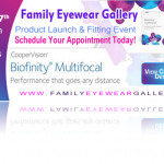 Family Eyewear Gallery - Graphic Ad Design
